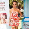 Brooke Burke Printed Romper