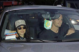 Ellen Page and Alexander Skarsgard left the LA Kings Stanley Cup finals game at the Staples Center in LA.