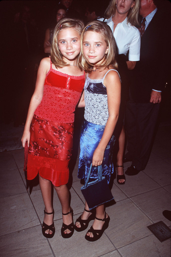 In 1998, Mary-Kate Olsen and Ashley Olsen posed together at the Armand Hammer Museum for an ABC party in LA.