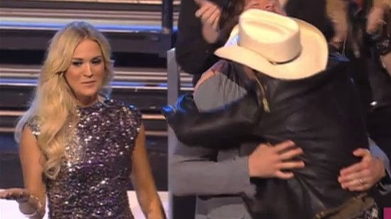 Video: Carrie Underwood Gets Jealous of Mike and . . . Brad Paisley?