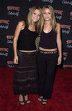 In 2001, Mary-Kate Olsen and Ashley Olsen showed off their tummies at a party for 'NSync.