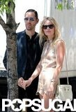 Michael Polish and Kate Bosworth were affectionate during a walk in NYC.