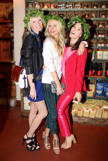 Elin Kling, Poppy Delevingne, and Hanneli Mustaparta