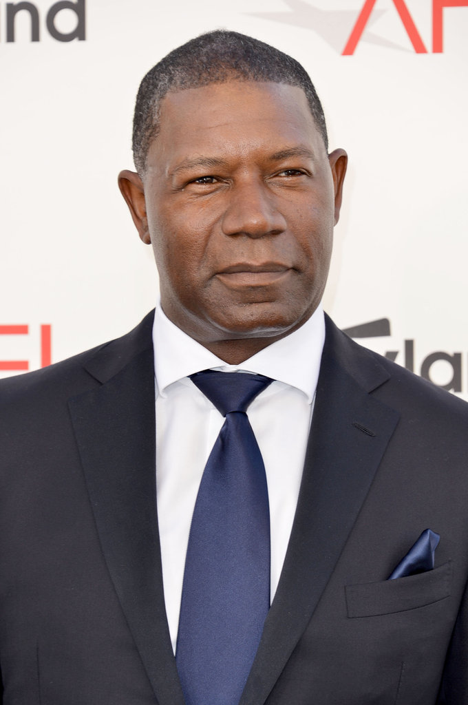 Dennis Haysbert was in attendance at the AFI Life Achievement Award dinner honoring Shirley MacLaine in LA.