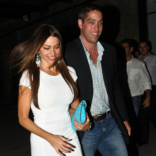 Sofia Vergara and Nick Loeb Hold Hands at Bagatelle Pictures