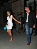 Sofia Vergara and Nick Loeb held hands.
