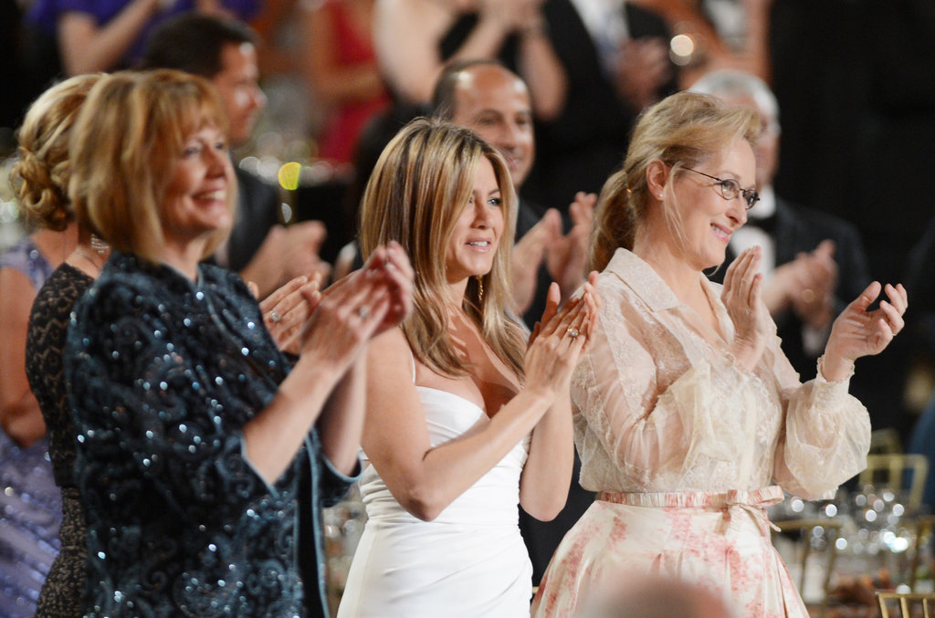 Jennifer Aniston and Meryl Streep were seen at an AFI gala.
