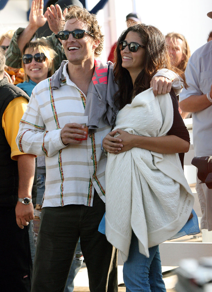 In April 2009, Matthew McConaughey and Camila Alves brought Levi to the MaliBLUE Art and Music Festival.