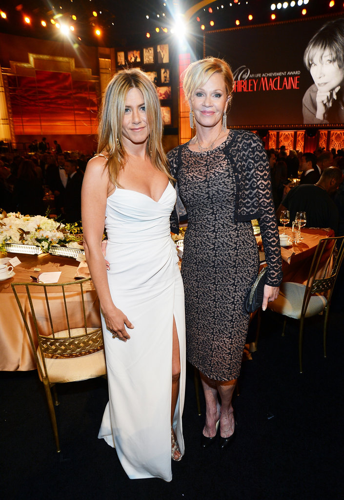 Jennifer Aniston and Melanie Griffith posed at an AFI gala.
