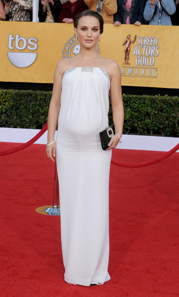 Natalie Portman in Azzaro at the 2011 Screen Actors Guild Awards