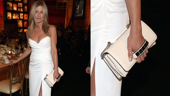 Jennifer Aniston Shows Some Skin in a Sexy White Summer-Perfect Dress!