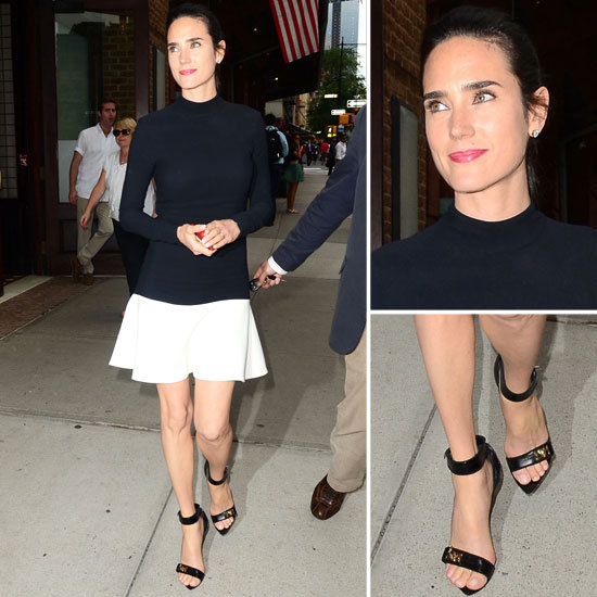 We Love Jennifer Connelly's Sleek Fit and Flare Ensemble — Here's How You Get the Look!