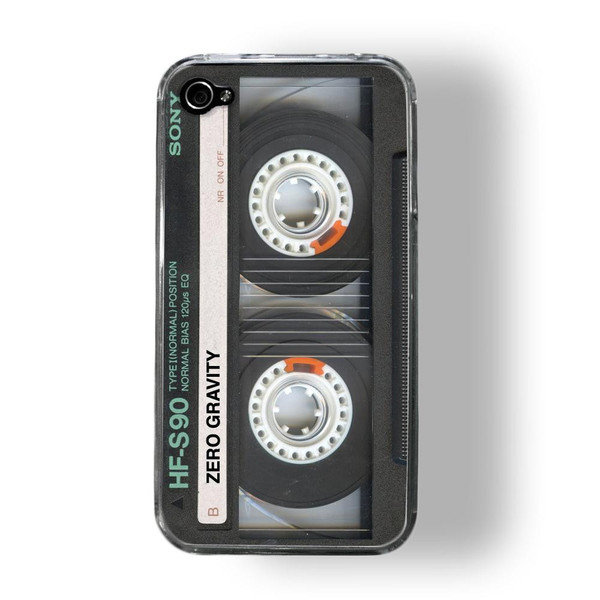 For a dad who still wishes mix tapes were the big thing, let him get nostalgic with this awesome Retro Cassette iPhone 4 Cover ($25).