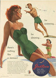 Hey, don't we all want a swimsuit that does double duty?