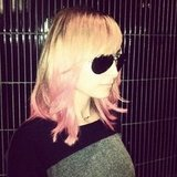 Nicole Richie added pink tips to her hair. Source: Instagram user valonzhaircutters