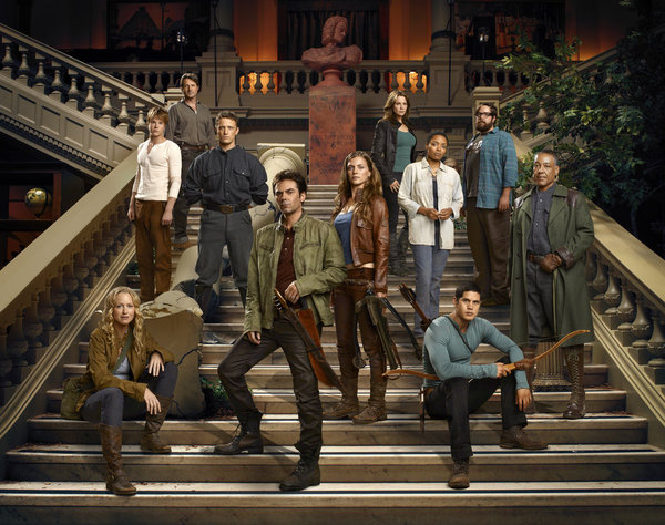 The cast of Revolution.