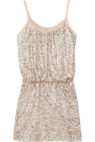 Rebecca Taylor|Sequined fine-knit mini dress|NET-A-PORTER.COM