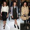 Style Stalk: Alexa Chung's Five Amazing Looks at the London Collections This Week