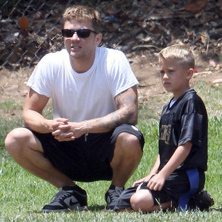 Ryan Phillippe and Girlfriend With Ava and Deacon Pictures
