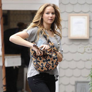 Jennifer Lawrence at Shutters on the Beach Pictures