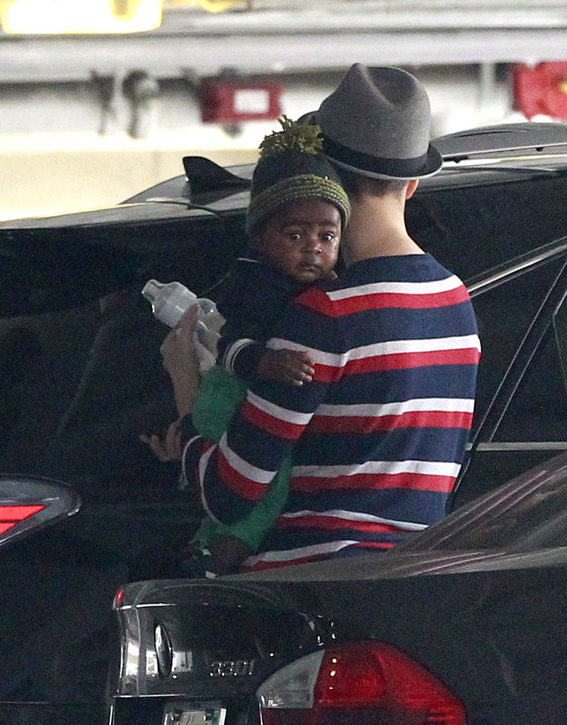 Charlize Theron had her hands full with baby Jackson as the two ran errands together.
