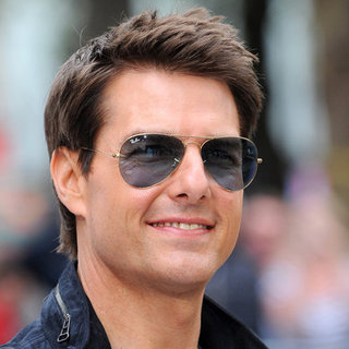 Tom Cruise at the London Premiere of Rock of Ages Video