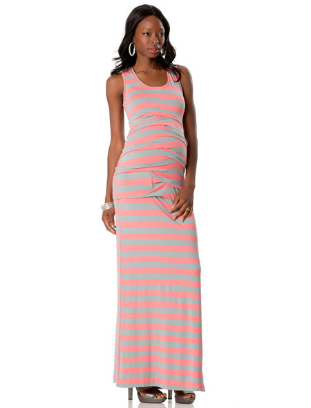 Nicole Miller Sleeveless Stretch Maxi Dress ($295)