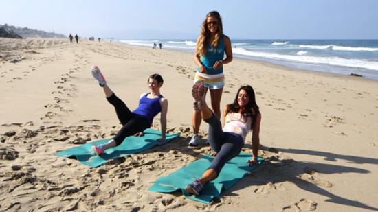 Get a Total Beach-Babe Workout With the Tone It Up Girls!
