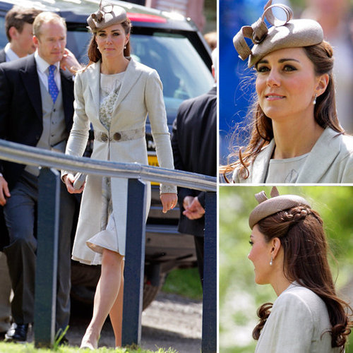 Kate Middleton's Recycled Wedding Outfit