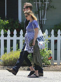 Drew Barrymore and new husband Will Kopelman relaxed on their honeymoon in Montecito together.
