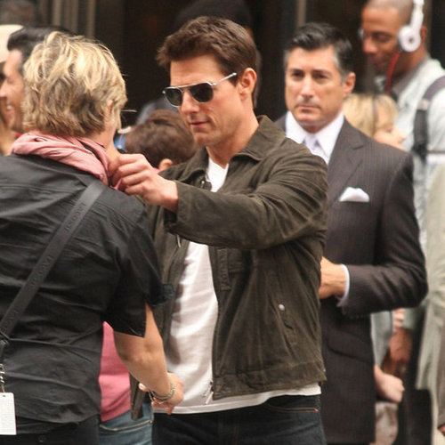 Tom Cruise Filming Oblivion Pictures