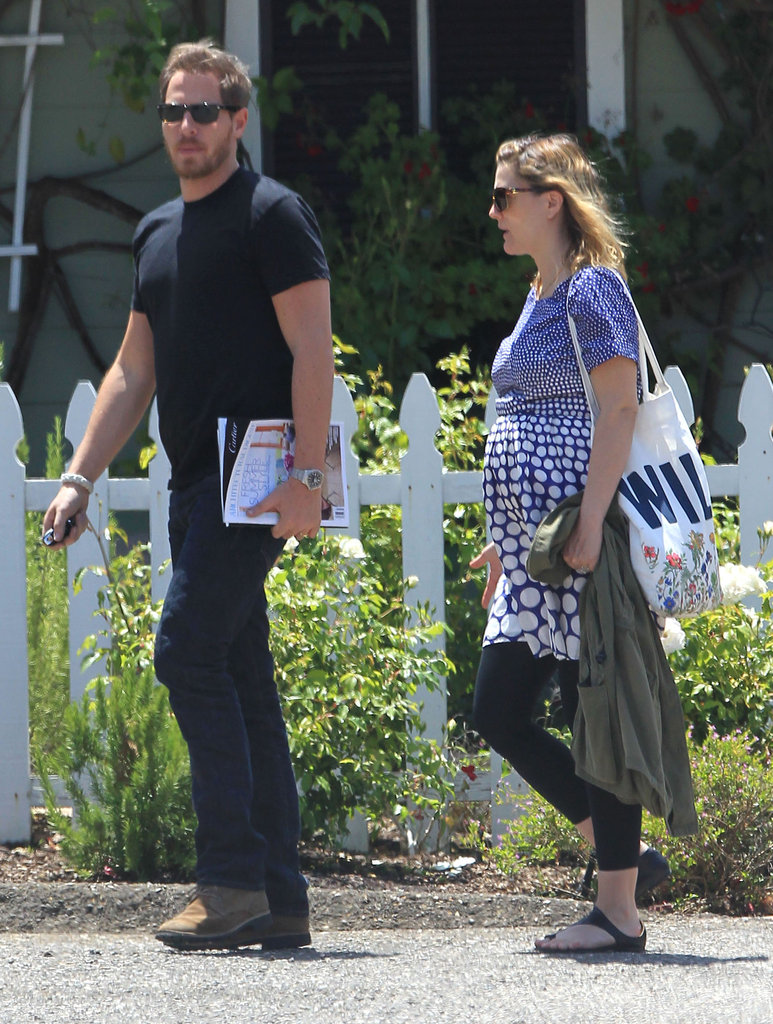 Drew Barrymore and Will Kopelman dined out in Montecito on their honeymoon.