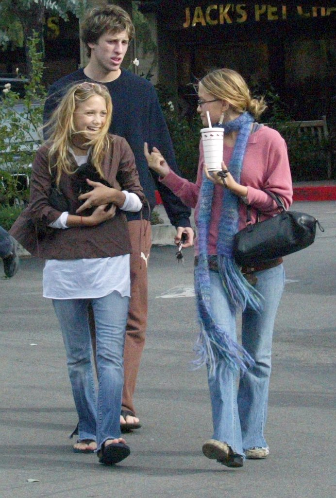 In 2002, Ashley Olsen and Mary-Kate Olsen were excited to bring home a new puppy.