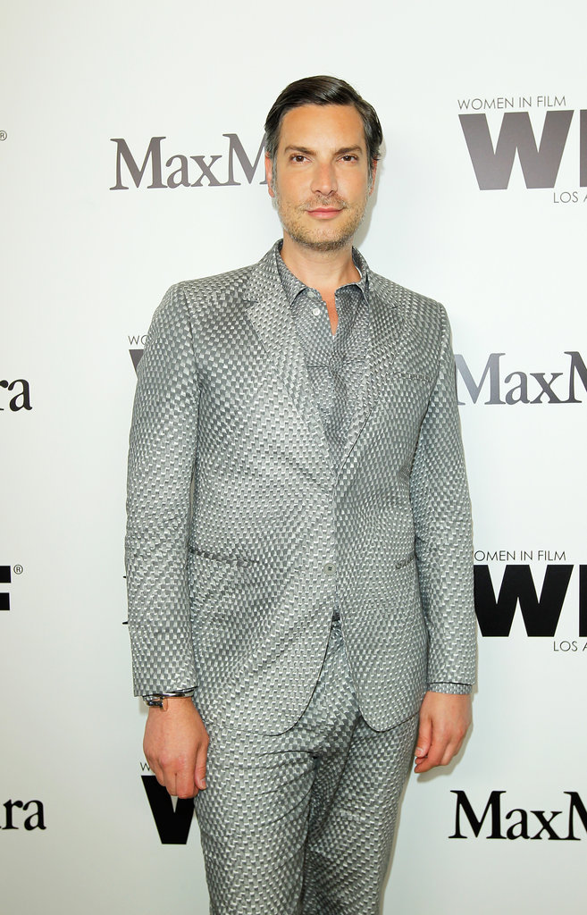 Cameron Silver arrived at the event in all gray.