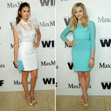 Nina Dobrev and Max Mara Toast Face of the Future Chloe Moretz