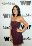 Olivia Munn posed for photos at the event.