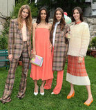 Stella McCartney's Resort features an awesome take on plaid and bright coral.