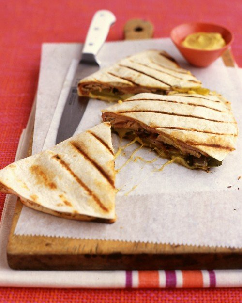 Pork Quesadillas