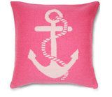We can't help but adore the light and hot pinks on this Jonathan Adler Anchor Pillow ($110).
