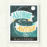Frame this Anchors Aweigh Art Print ($30) to add a dreamy anchor motif to your bedroom wall.
