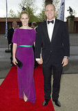 Zara and her husband wore their finest to the Rugby For Heroes charity dinner in May 2012.