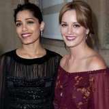 Leighton Meester, Hilary Swank And Karolina Kurkova Visit The Louvre For Ferragamo