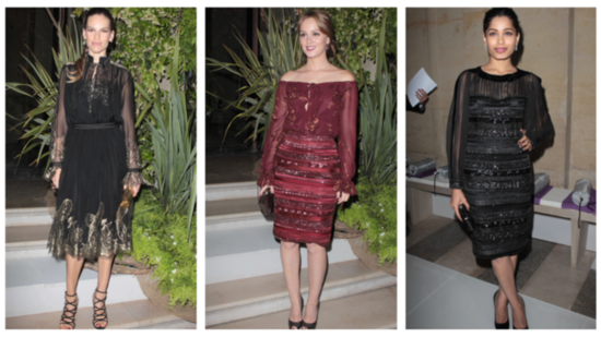 Celebrities Flock to the Louvre in Paris For Ferragamo's Resort Show