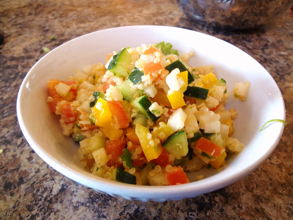 Cilantro-Lime Quinoa Salad