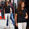 Shop Monochrome Polka Dots Like Cheryl Cole