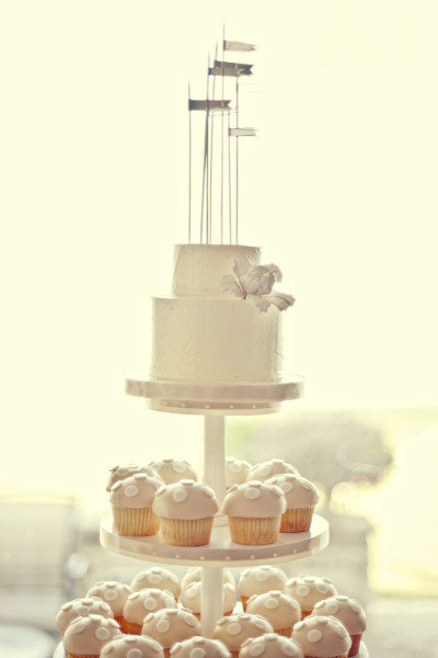 Clustered as the Cake Topper