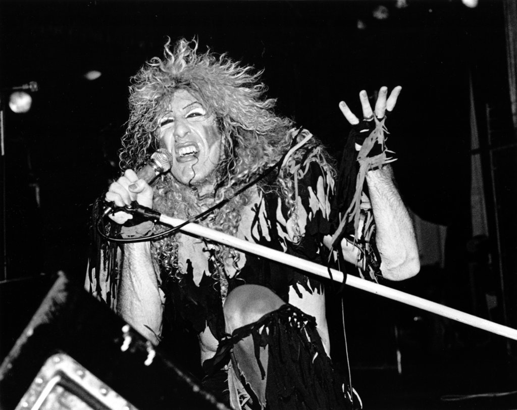 Dee Snider of Twisted Sister, 1984