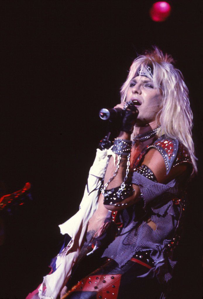 Vince Neil of Motley Crue, 1983