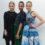 Zoe Saldana Pictures at Persol Party With Dianna Agron