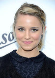 Dianna Agron gave a smile at the Persol Magnificent Obsessions event in NYC.
